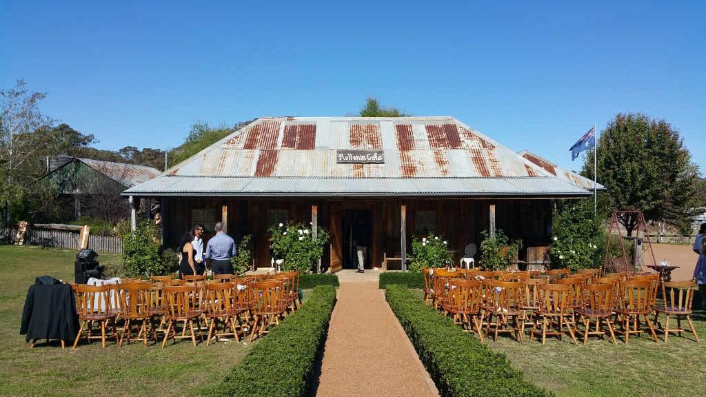 Canberra rural wedding venue