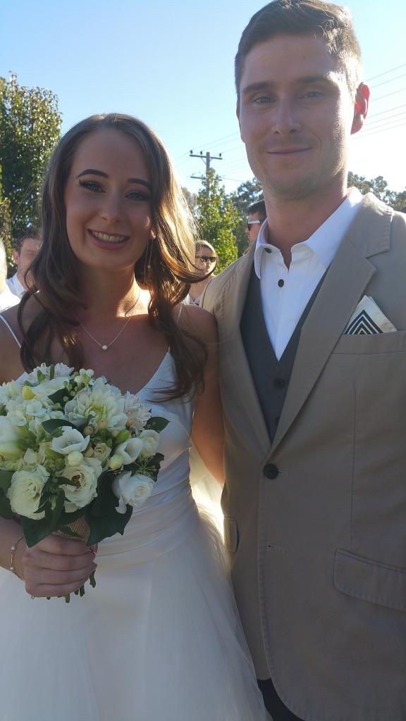 Rollonin Cafe wedding